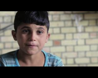 الطفل اليزيدي ذياب